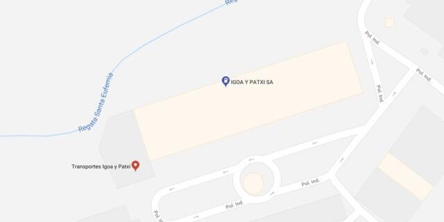 Ubicación de la gasolinera barata IGOA PATXI