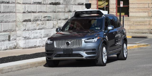 Coches autonomos Uber