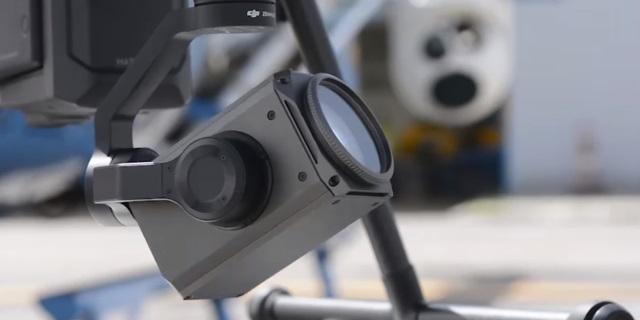 Camara del dron de la DGT
