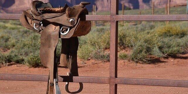 Como poner una montura a un caballo.