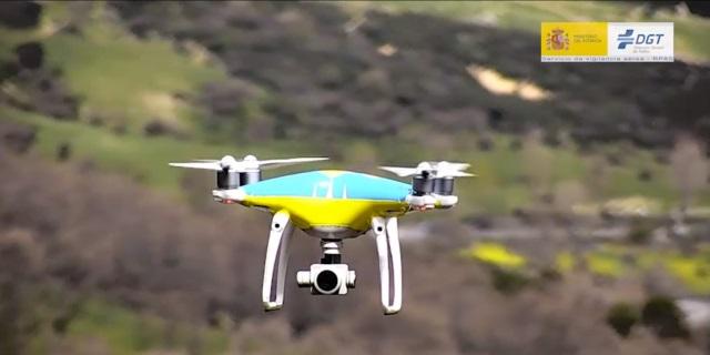 Los drones de la DGT: todos los detalles