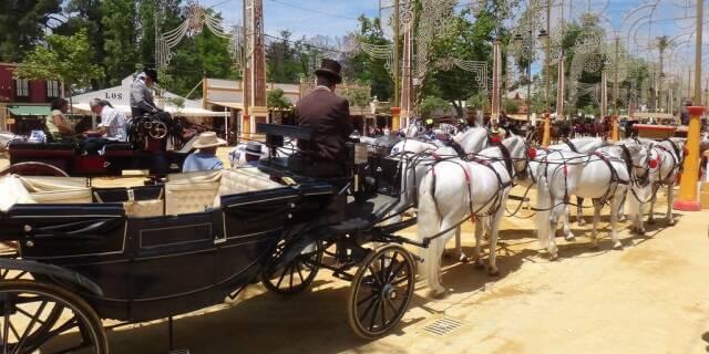 Feria del Caballo de Jerez.