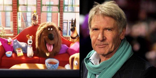 Harrison Ford estará en Mascotas 2