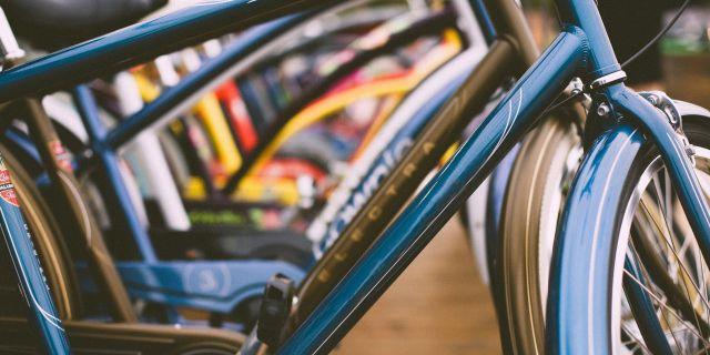 Las partes de una bicicleta.