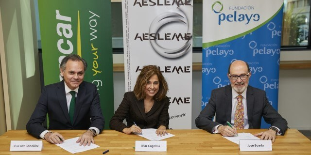 PELAYO, AESLEME, y EUROPCAR juntos para fomentar la seguridad vial entre los jóvenes madrileños