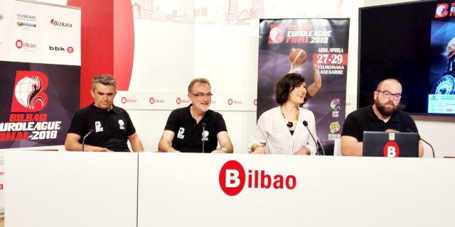 Presentación prensa de la final Euroliga de Baloncesto en Silla de Ruedas en Bilbao con el patrocinio de Allianz como sponsor premium