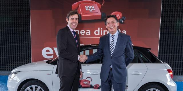 Acuerdo con Audi de Línea Directa Aseguradora