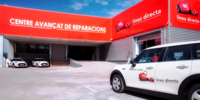 Centro Avanzado de Reparaciones CAR de Línea Directa abierto en Barcelona
