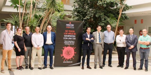 Hiscox y el Colegio de Mediadores de Seguros de Málaga colaboran en una sesión formativa sobre ciberseguridad
