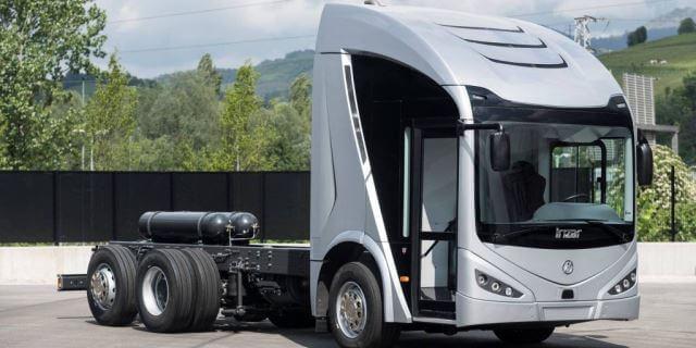 Ie Truck el primer camión eléctrico español fabricado por Irizar en Guipuzcoa