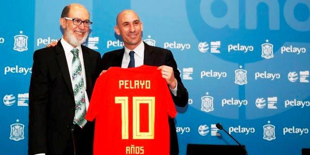 Pelayo celebra 10 años de apoyo a la Selección Española de Fútbol como patrocinador oficial