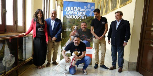 Presentación de la campaña solidaria (Foto: Ayuntamiento de Málaga).