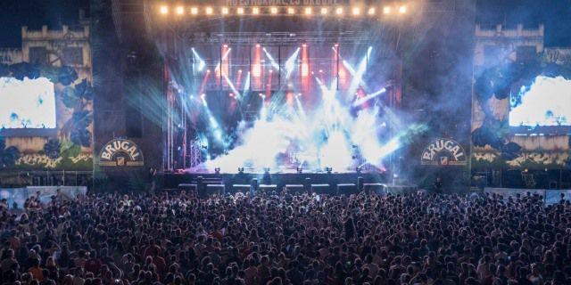 Uno de los conciertos del Weekend Beach Festival