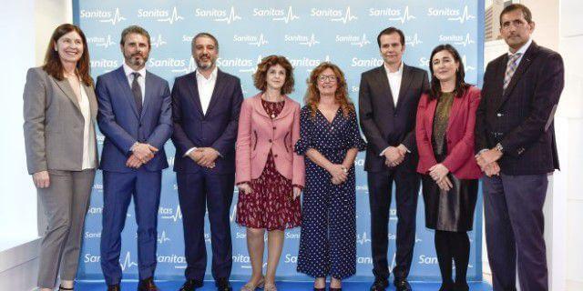 Apertura de la nueva oficina de Sanitas en Bilbao.