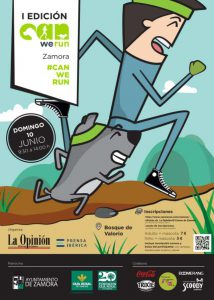Cartel de la I We Can Run Zamora (Foto: Ayuntamiento de Zamora).