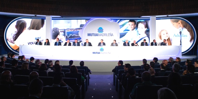 junta general Mutua Madrileña en la que se habló de la transformación digital o digitalización