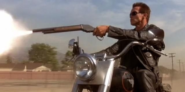 La moto de Terminator 2 se subasta a un alto precio.