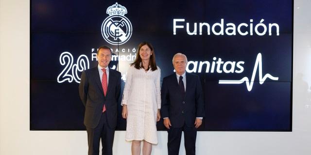 Las fundaciones de Sanitas y el Real Madrid mantienen su colaboración tras una década