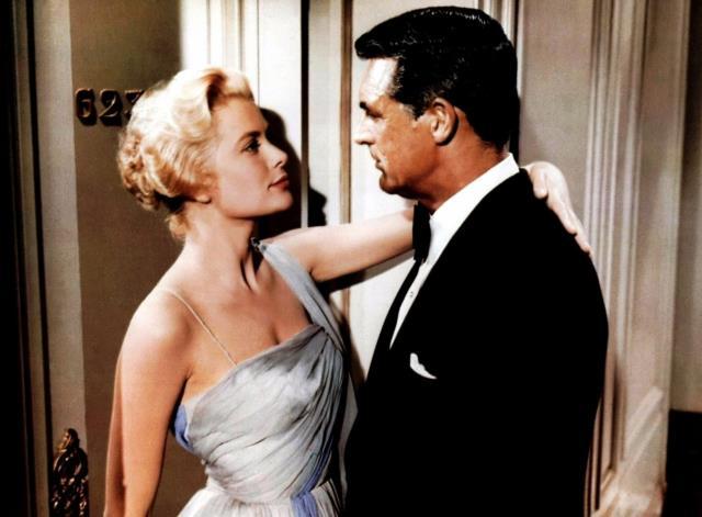 Fotograma de Atrapa a un ladrón con Grace Kelly y Cary Grant