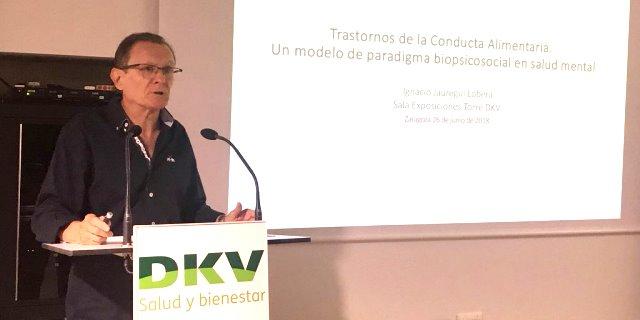 charla sobre trastornos alimentarios DKV y fundación APE