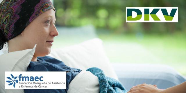 enferma de cáncer que va a contar con más ayuda de FMAEC gracias al donativo de DKV
