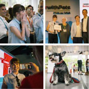 La Fundación OOPOEH consiguió el primer premio en el Fórum 2018 de Purina.