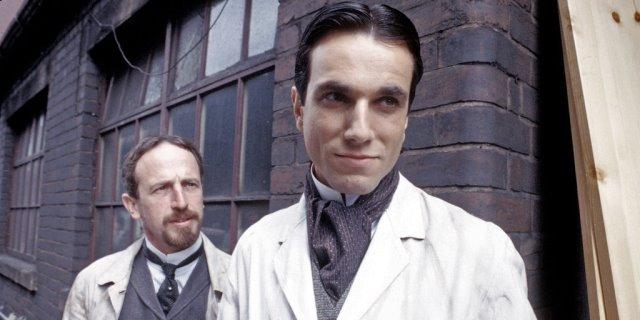 The Insurance Man con Daniel Day Lewis como Mr Kafka