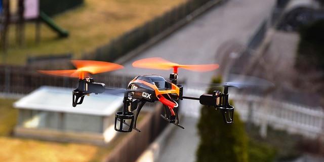 Uno de los muchos drones que se usan en Europa