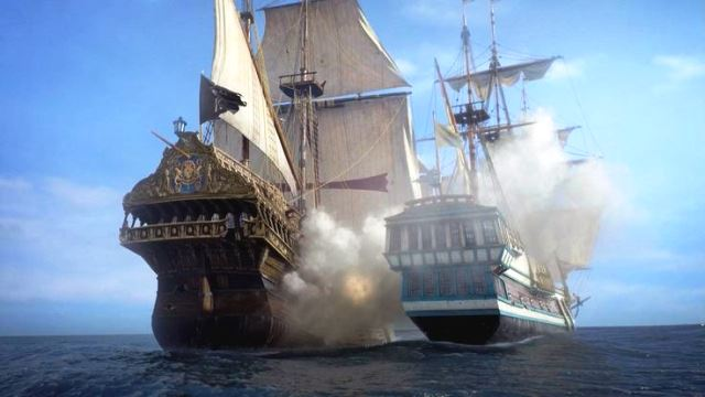 Barcos de Black Sails.