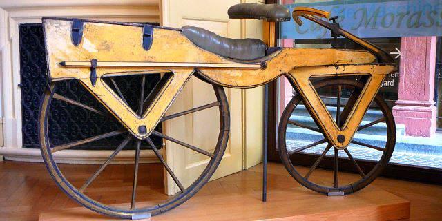 Bicicleta más antigua del mundo.