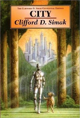Portada de Ciudad, el libro de ciencia ficción sobre perros.