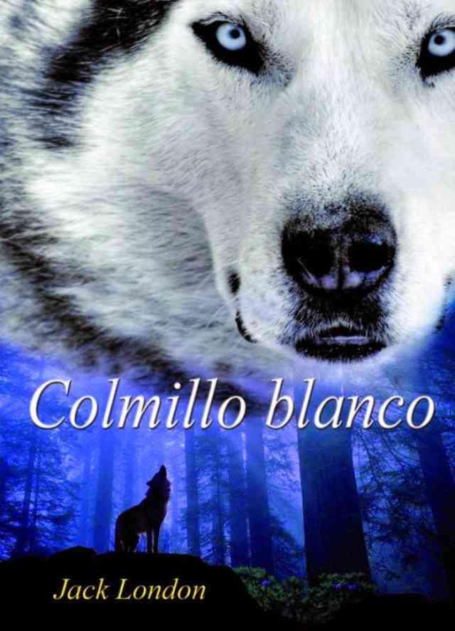 Colmillo Blanco, una de las obras más famosas de Jack London.