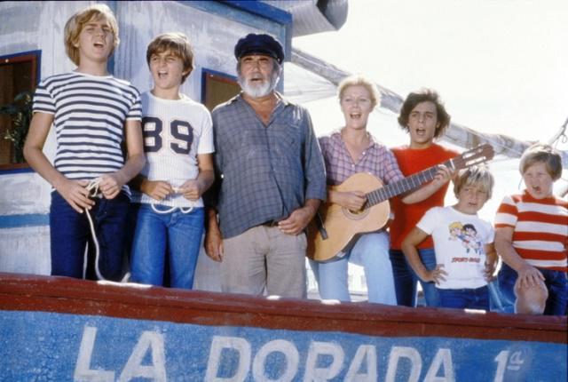La Dorada, el barco de Chanquete en Verano Azul.