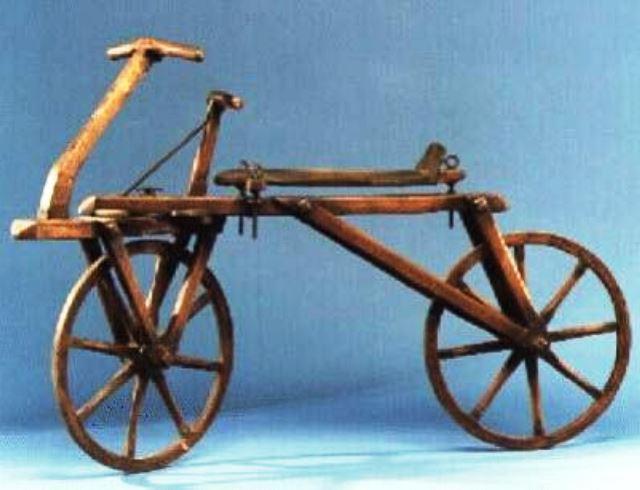 La Draisiana, la primera bicicleta de la historia.