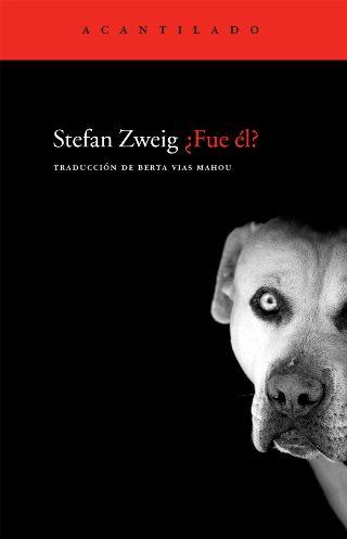 """Portada de """"¿Fue él?"""", el relato corto de Stefan Zweig"""