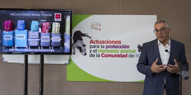 Izquierdo da los detalles sobre la campaña (Foto: Comunidad de Madrid).