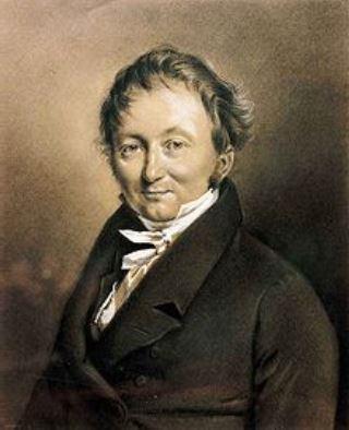 Karl von Drais, el inventor de la primera bicicleta.