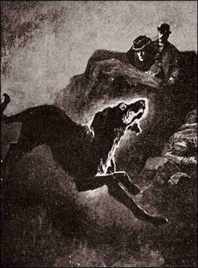 El sabueso de Baskerville, obra de Arthur Conan Doyle.