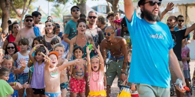Vacaciones para niños en festivales de música