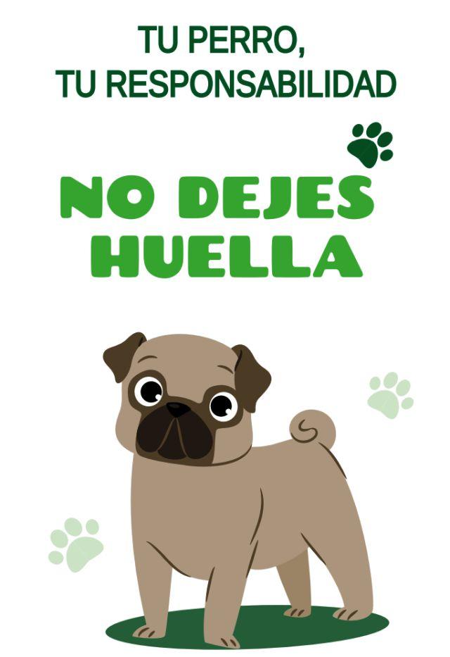 """""""No dejes huella"""", campaña del Ayuntamiento de Arona."""