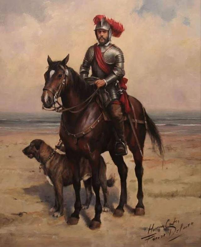 Molinero, el caballo de Hernán Cortés