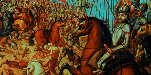 Molinero, el caballo de Hernán Cortés.