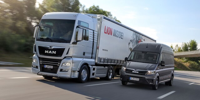 La carretera es el medio dominante en el transporte de mercancías.