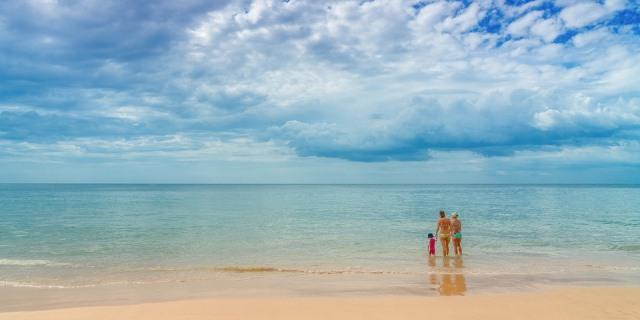 Planes de verano con niños en la playa