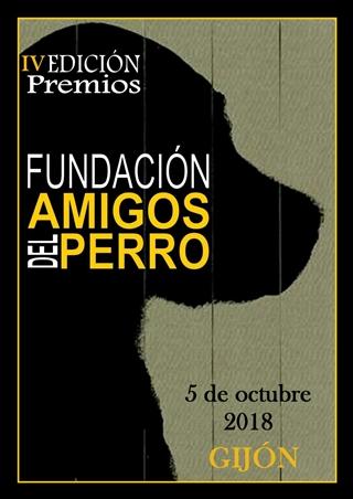 Cartel IV Premios Fundación Amigos del Perro