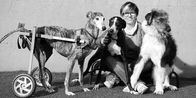Noelia Sánchez Sánchez, voluntaria de la Fundación Amigos del Perro