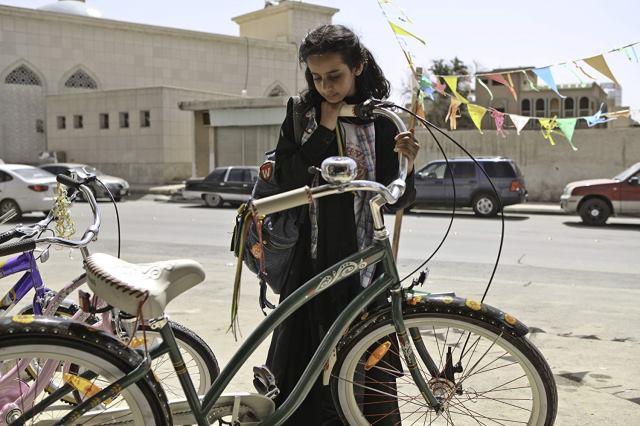 Wadjda en La bicicleta verde.
