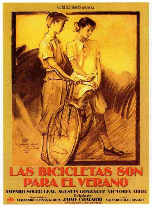Imagen de la película Las bicicletas son para el verano.