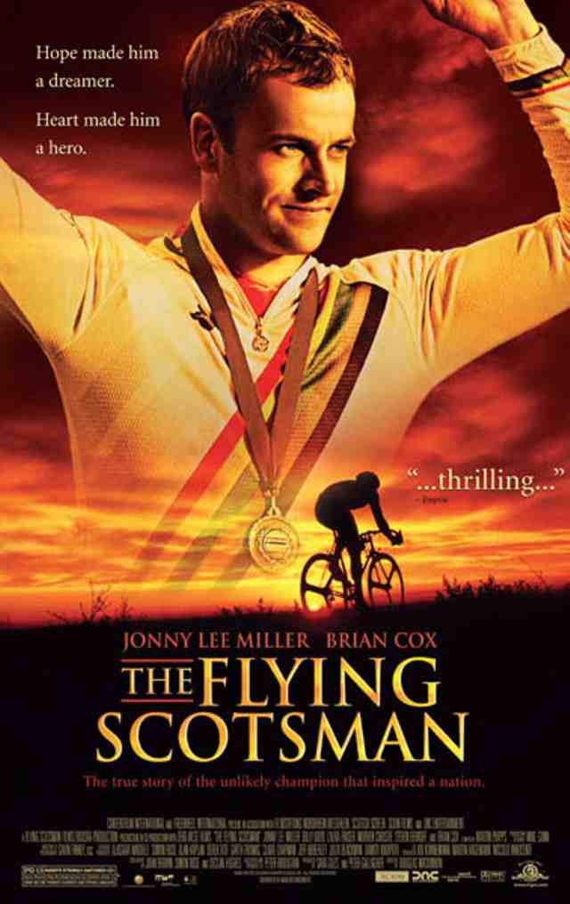 Póster de la película The Flying Scotsman.