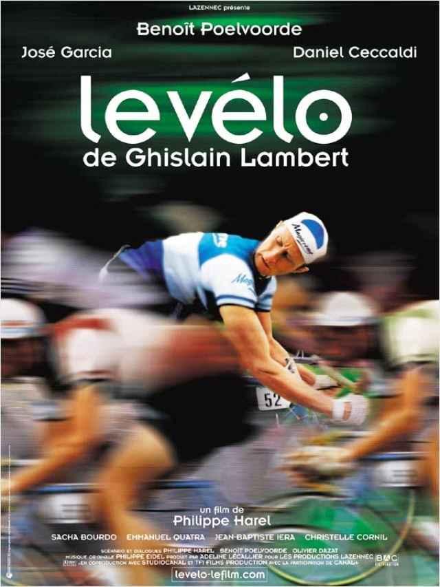 Póster de la película La bici de Ghislain Lambert.